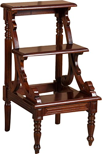 scaletta-in-legno-massello-di-mogano-finitura-noce-44x49x81-cm