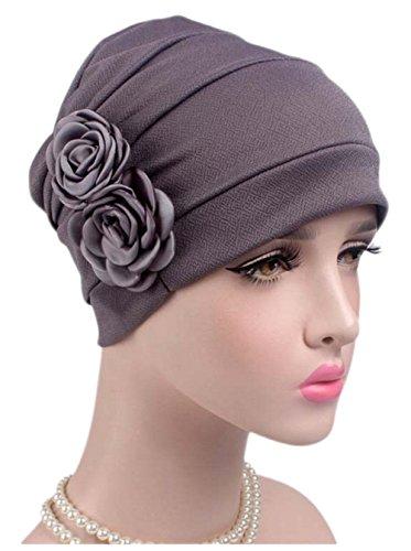 Boboder Frauen Chemo Kappe Soft Nacht Schlaf Turban Headwear Beanie Hut für...