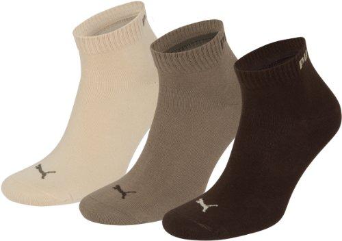 Puma Socken Quarter 3P,Braun(braun),39/42,251015 -