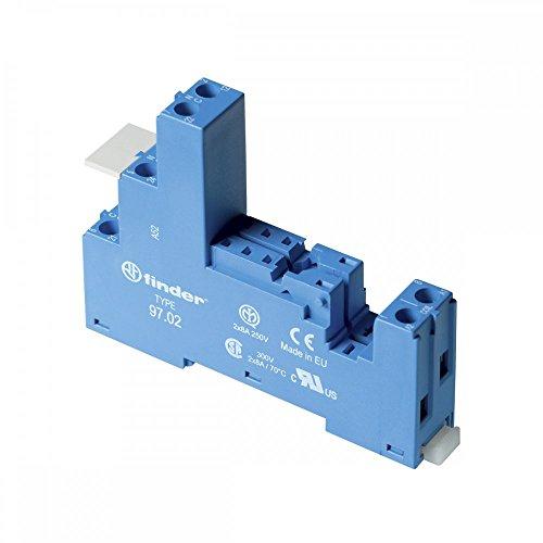 Preisvergleich Produktbild Finder Serie 97-Sockel mit Borne A Kassettendeck blau für 46.52