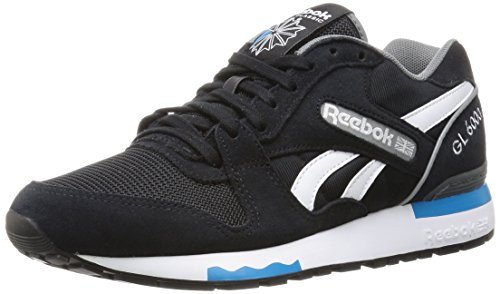 Reebok Gl 6000 Pp, Sneakers Basses Homme Black (Black/Alloy/Wild Blue/White)