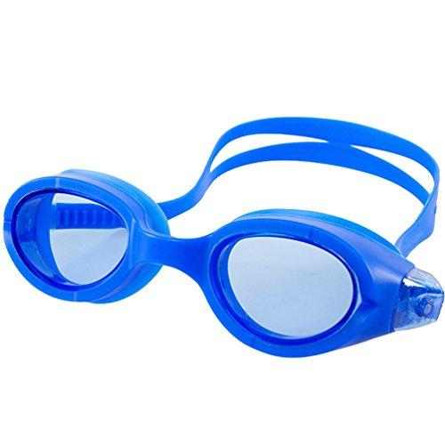 CHENGYANG Schwimmbrille Erwachsene Anti Fog Ohne Leakage deutlich Anblick UV Schutz Einfach, Bequem für Mann und Frau Blau # 6