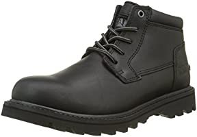 Cat Men Doubleday Short Boots, Black (Black), 9 UK 43 EU