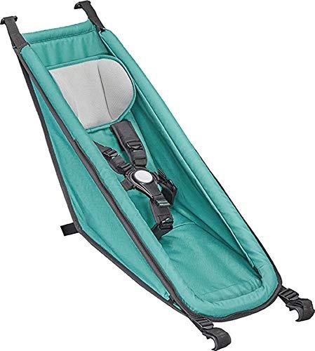 Croozer Babysitz für Kinderanhänger Mod.2014-18; für Kid/Kid Plus 2014-2018 Arktis grün