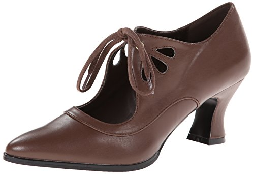 Pleaser Victorian 03, Scarpe Con Tacco Donna Marrone (brown pu)