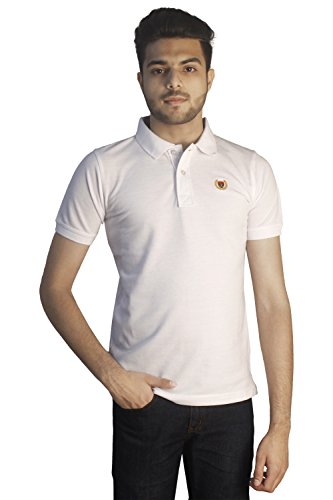 Tapasya White Polo T-Shirt
