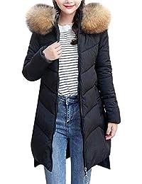 27d5a6ab81bd Saoye Fashion Damen Winterjacke Wintermantel Lang Daunenjacke Jacke Outwear  Winter Warm Kleidung Down Mantel Daunenmantel…