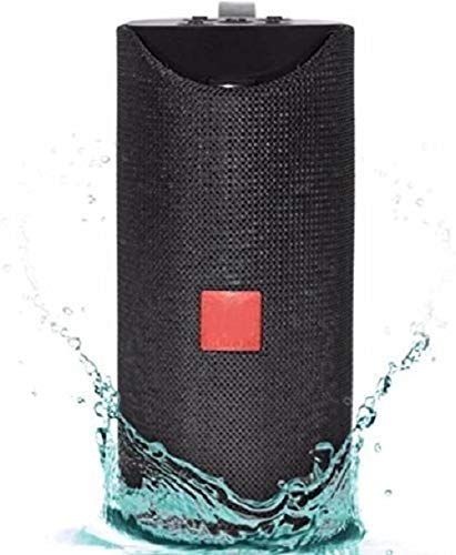 MW CASES TG113 Portable Wireless Bluetooth Speaker with Mic, Super Bass, Splashproof and USB MP3 Player (Assorted Colour)