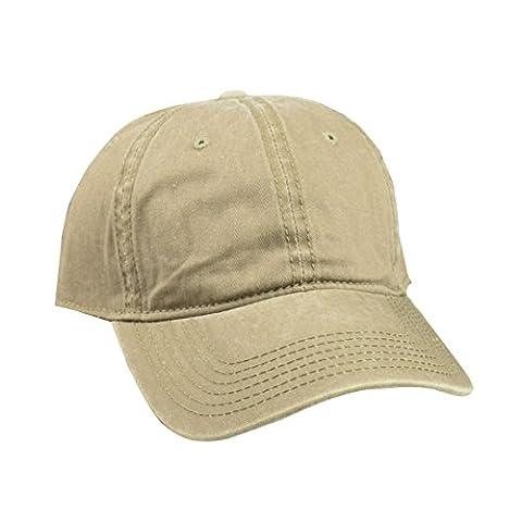 TININNA Unisexe Jean Sport Bonnet ,Casual Casquette de baseball Visière,Chapeau de Soleil en Denim Khaki