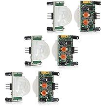 kwmobile 3x PIR Motion sensor movement sensor HC-SR501 with digital output, sensor for Arduino, Genuino and Raspberry Pi