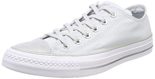 Converse 559888C Damen Ctas Ox Fitnessschuhe, Silber (Pure Platinum/Silver/White 082), 38 EU