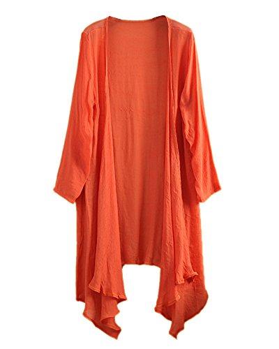 LifeWheel - Pull -  Femme Orange - Orange