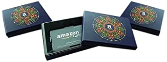 Amazon.in Gift card - in a Blue Gift Box (Pack of 3) - Rs.3000