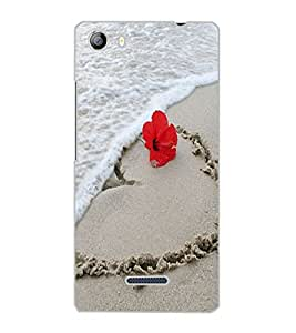 MICROMAX CANVAS 5 SAND Back Cover by PRINTSWAG