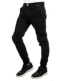 Cleptomanicx Hose MEN PANTS PORT CHINO JOGGER pirate black