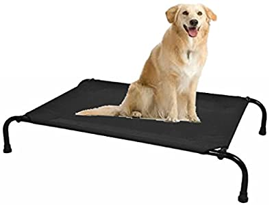 FiNeWaY@ Large Waterproof Pet Dog Cat Bed Outdoor/Indoor Cushion Strong Sturdy Frame - inexpensive UK light shop.