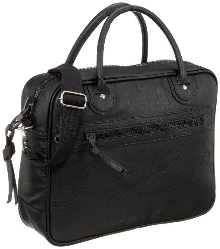 Frankie's Garage Computer Bag B20981009-020, Unisex - Erwachsene Laptop-Taschen 39x30x11 cm (B x H x T) Schwarz (black 010)