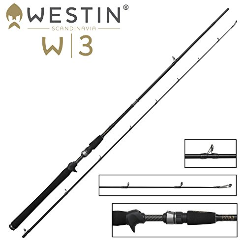 Westin W3 Twitching-T MH Spinnrute 219cm 15-40g - Twitchrute, Spinnangel zum Spinnangeln auf Raubfische, Angelrute für Zander