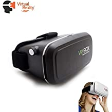 Occhiali 3d vr, virtual reality Google Cardboard per 4 fino a 6,5 pollici Smartphone modelli come ad esempio Samsung Galaxy S5, S6, S7, Edge Plus, iPhone 5, 6, 7 Plus e HTC M9, M10, One u.v.a., nuovo