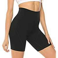 JOYSPELS Womens High Waisted Sports Shorts - Running Shorts with Inner Pockets, Non See Through Yoga Cycling Shorts for…