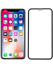 POPIO Tempered Glass for Apple iPhone X/XS (Transparent)-Edge to Edge Full Screen Coverage