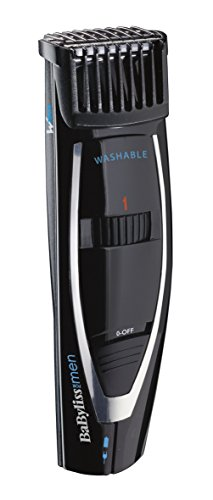 BaByliss For Men E856E - Regolabarba, Lame Wtech  - Lunghezza da  1 a 18 mm - Precisione 1 mm - Rete/ricaricabile