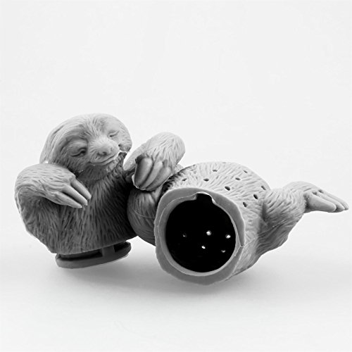 Niedliches Tier Faultier Tee-Ei aus Silikon (BPA-frei) für losen Tee Tee-Infuser - 3