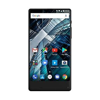 Archos Smartphone portable débloqué 4G (Ecran: 5,5 pouces - 16 Go - Double SIM - Android) Noir