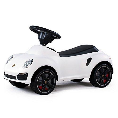 Kinderfahrzeug Baby Car Porsche 911 weiß, Auto Rutscherfahrzeug Rutscherauto Rutscher thumbnail
