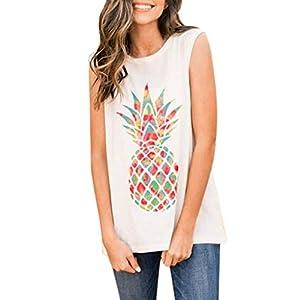 VEMOW Camiseta Mujer Blusas Tops