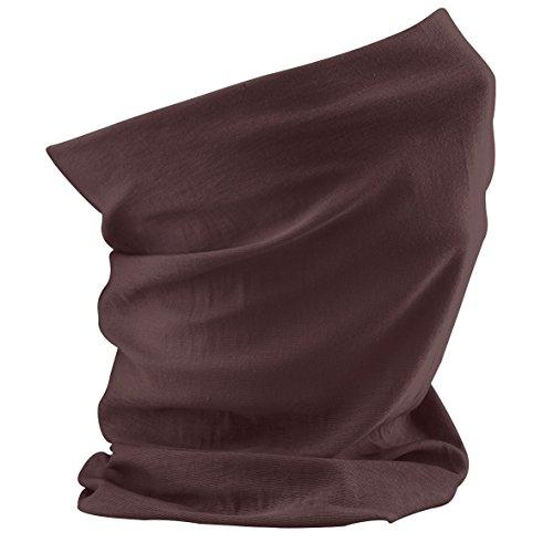 Schlauchschal aus Mikrofaser | Schlauchtuch | Halstuch | Bandana | Multifunktionstuch | Kopftuch | vielseitig und in verschiedenen Farben (Chocolate)