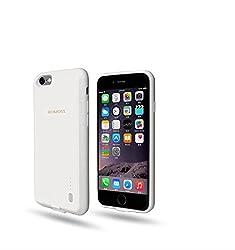 Romoss Encase Premium Charging Case 2000mAh for iPhone 6/6S (White)