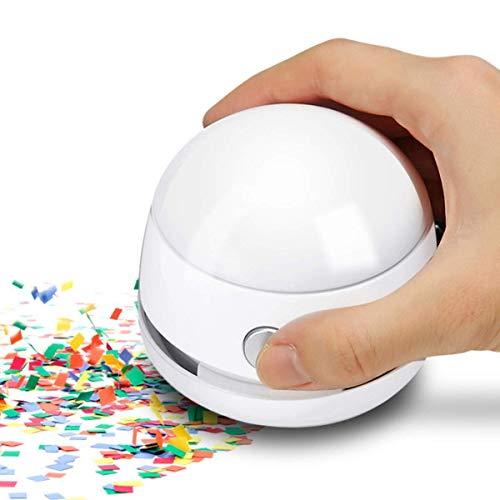 Mini Tischsauger, MECO ELEVERDE Kreativ Deskop Cleaner Reiniger Tastatursauger Mit Ladekabel Geschenk für Desktop und Haushalt