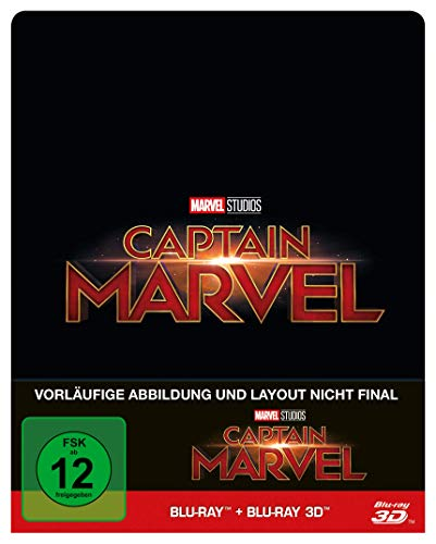 Captain Marvel [Blu-ray] [Limited Edition]