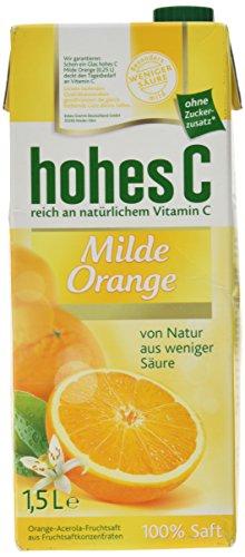 Hohes C Milde Orange, (1x1,5l)