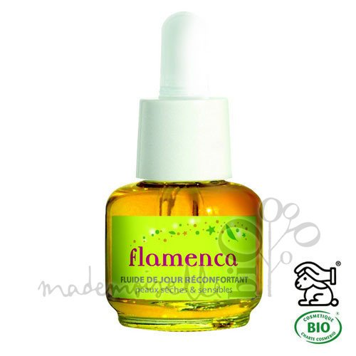 Les Douces Angevines Flamenca Soin de jour réconfortant baume fluide 15ml