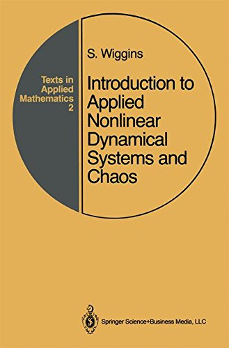 Introduction to Applied Nonlinear Dynamical Systems and Chaos: v. 2 (Texts in Applied Mathematics) par Stephen Wiggins