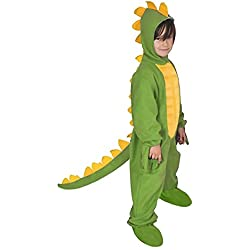 Dinosaurios Dragón Infantil Disfraz Verde para 122–128stegosaurier Niños de carnaval Disfraz