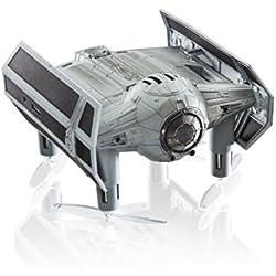 PROPEL - Drone Quadricoptère de combat Tie Advanced X1 Star Wars | Conception à Propulsion Inversée | 3 Réglages de Vitesse | Mode de Stabilisation d'Altitude | Incl. App Gratuite pour iPhone & iPad