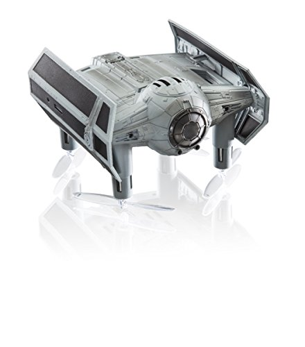 Propel SW-0327-CX Star Wars Tie-Advanced - Quadcopter de la Batalla de Alto Rendimiento, Caja Premium