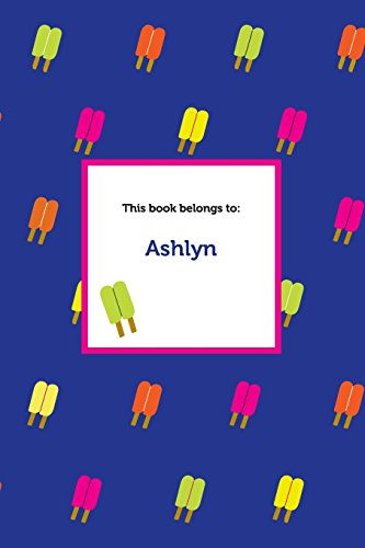 Etchbooks Ashlyn, Popsicle, Wide Rule