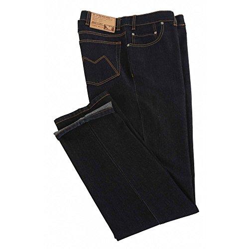 Jeans Maxfort elasticizzato taglie forti uomo - Blu scuro, 52 GIROVITA 104 CM
