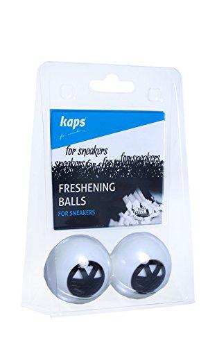 Kaps Rinfrescare Balls-Scarpe per Sneakers odori mangiare palline con tecnologia idrogel, aromi naturali, deodorare intensità regolabile, made in Europa