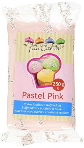 FunCakes Pasta di Zucchero Rosa Pastello, 250g