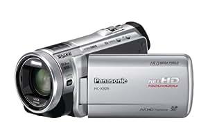 Panasonic HC-X909EG-S Full-HD Camcorder (8,8 cm (3,4 Zoll) Display, 12-fach opt. Zoom, 3MOS System Pro, Leica Objektiv, 29,8mm Weitwinkel, 3D-Option) silber