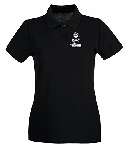 T-Shirtshock - Polo pour femme BEER0291 Toad House Noir