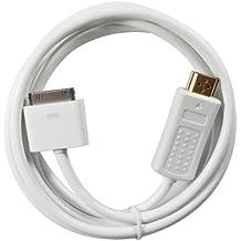BeckenBower® - Cable HDMI para iPad de 2ª, 3ª y 4ª generación (30 pines, 1,8m)