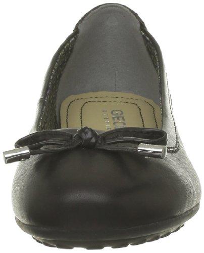 Geox D Piuma Bal H, Ballerine Donna Nero (Black C9999)