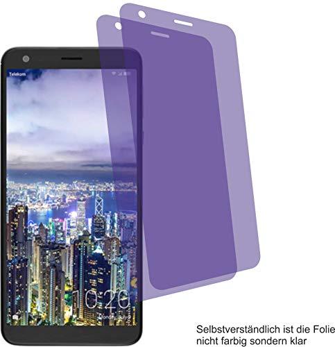 4ProTec 2X Crystal Clear klar Schutzfolie für Sharp Aquos B10 Bildschirmschutzfolie Displayschutzfolie Schutzhülle Bildschirmschutz Bildschirmfolie Folie