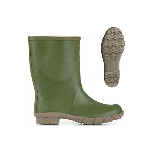 Bottes in gomma - 7077-tronchetto Padus Olive